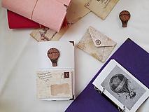 Papiernictvo - Diár 2021/Doplniteľný diár Softwille Snow White s brošňou - 10080312_