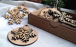 Sada 12 vianočných ozdôb s personalizovaným prianím