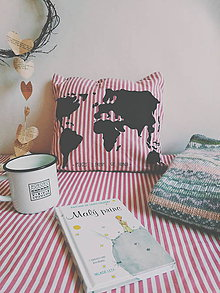 Úžitkový textil - PLACES I DREAM OF GOING - 10081944_