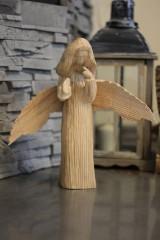 Dekorácie - Soška anjela - 10082049_