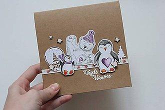 Papiernictvo - Vianočná pohľadnica - 10082665_