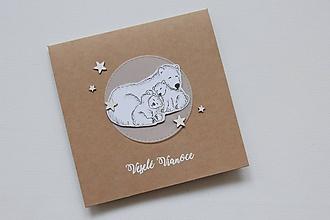 Papiernictvo - Vianočná pohľadnica - 10082699_