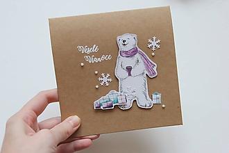 Papiernictvo - Vianočná pohľadnica - 10082716_