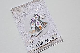 Papiernictvo - Vianočná pohľadnica - 10082722_