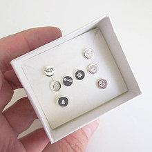 Sady šperkov - Sketch_One :-) 6mm (SET 8ks podľa vlastného výberu) - 10082920_
