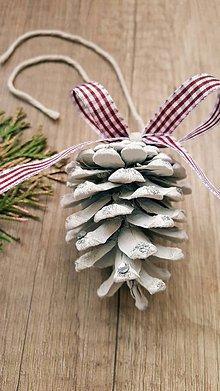 Dekorácie - Vianočná šiška - 10081802_