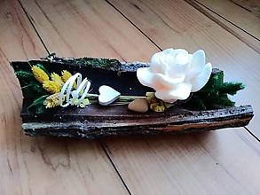 Svietidlá a sviečky - Rose svietnik - 10084796_
