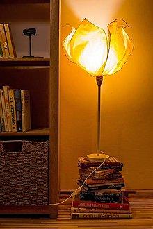 Svietidlá a sviečky - Zlatovláska- stolná lampa - 10083626_