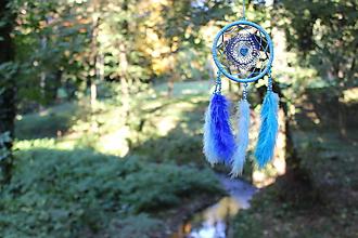 Dekorácie - Modrý vánok - 10081972_