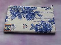 Taštičky - Blue rose - 10084311_