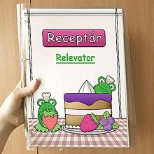 Papiernictvo - Žabie receptáre - 10080781_