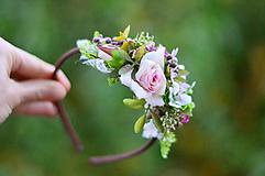 Ozdoby do vlasov - Báseň o ruži - 10088035_