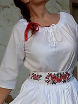 - Košeľa predĺžená bavlnená - 10088983_
