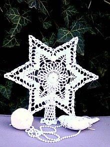 Dekorácie - Vianočná hviezda III - 10089516_