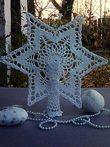 Dekorácie - Vianočná hviezda III - 10089521_