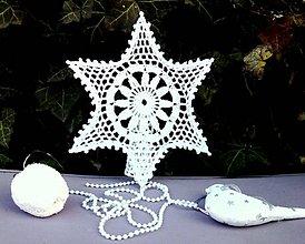 Dekorácie - Vianočná hviezda IV - 10089629_