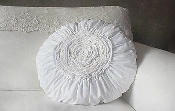Úžitkový textil - Coussin Vintage rond - 10085820_
