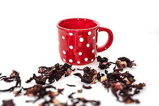 Nádoby - Červená farba - Farba Vianoc - 10086459_