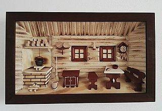 Obrázky - Obraz drevený 3D
