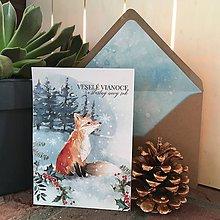 Papiernictvo - Vianočný pozdrav ELLA - 10089449_
