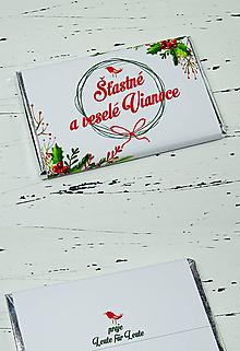 Drobnosti - Snehobiele Vianoce - 10089454_