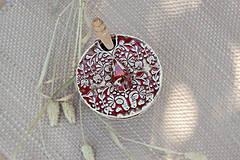 Nádoby - Medovnička - ľudová kolekcia (stredná veľkosť) - 10086296_