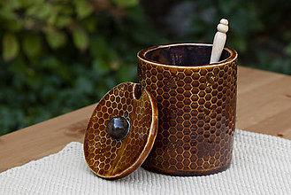 Nádoby - Medovnička - medová kolekcia (veľká - 7 dl) - 10086329_