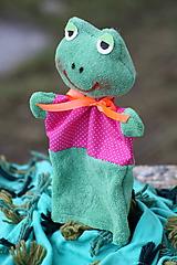 Maňuška. Zvieratko Žabka Amálka