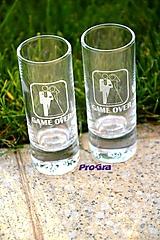 Nádoby - Drink-It Štamprlíky - sada 2ks - 10088324_