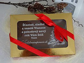 Nezaradené - Čokoládová pohľadnica pre firmy - 10086685_
