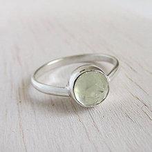 Prstene - Máj: SpringLove / Prehnite 6mm - 10088778_