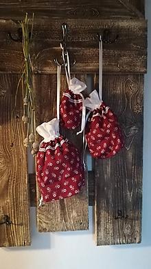 Drobnosti - Textilné vrecúško - 10088869_