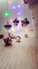 Dekorácie - Lesné žalude - vianočná dekorácia - 10087547_