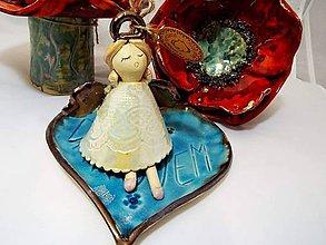 Socha - Anjeliky zvonivé - 10089476_