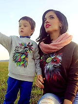 Mikiny - Set mikin mama a syn - 10086039_