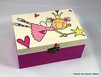 Krabičky - šperkovnica Malá víla - 10088615_