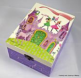 Krabičky - šperkovnica Tancujúce víly - 10088673_