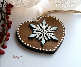 Dekorácie - Vianočná ozdoba masív 8 - 10093363_