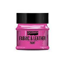Farby-laky - Farba na textil a kožu, 50 ml, Pentart - 10091154_