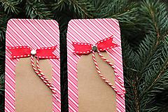 Papierový sáčok na vianočné drobnosti SADA