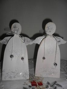 Dekorácie - Vianočný anjelik. - 10090174_