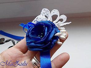 Náramky - Vintage svadobný náramok X. - 10090912_