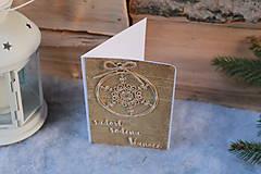 Papiernictvo - gulička_ vianočná pohľadnica - 10089957_