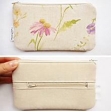 Peňaženky - Peňaženka - Echinacea na lúke - 10090967_