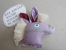Odznaky/Brošne - Koník hlavička - reflexná brošnička * - 10091430_