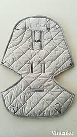 Textil - Podložka / poťah do kočíka STOKKE  Summer and Winter 100% ovčie rúno MERINO ELEGANT Sand - 10094079_