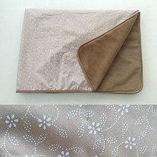Úžitkový textil - Vlnená deka CAMEL 100% ovčie runo MERINO Folklór - 10091277_