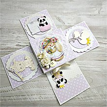 Papiernictvo - Krabička pre dievčatko - 10093686_