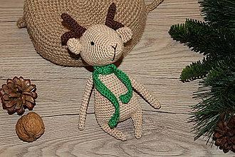 Hračky - Srnček ako vianočná ozdoba - 10092521_