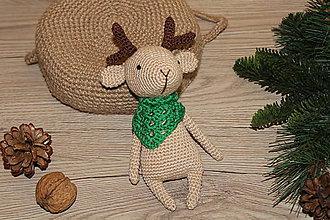 Hračky - Jelenček ako vianočná ozdoba - 10092561_